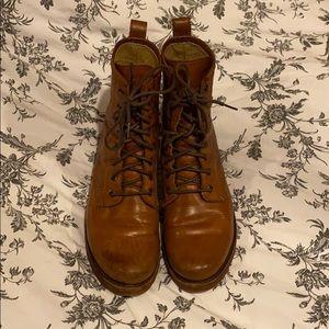 Women's Frye Veronica Combat Boots 8